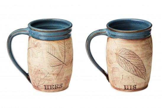 His or Her Woodland Mug | UncommonGoods