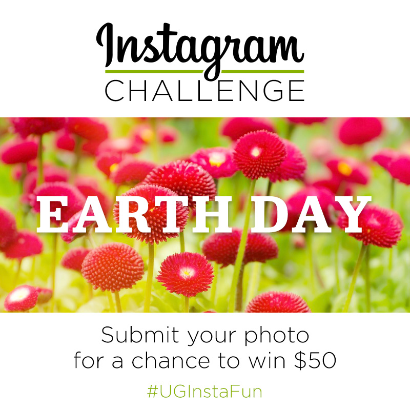 Instagram Challenge | Earth Day | #UGInstaFun