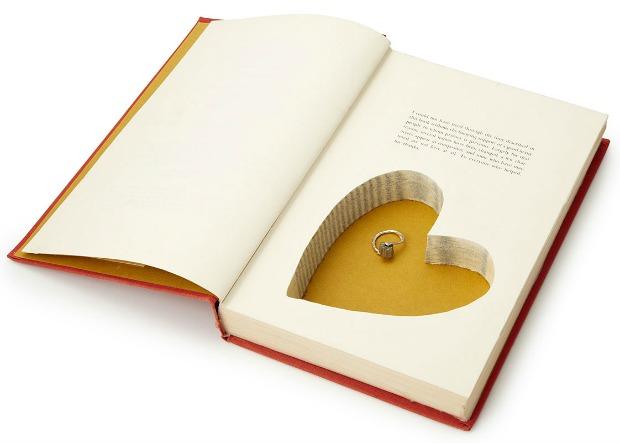 Heart Book Box | UncommonGoods