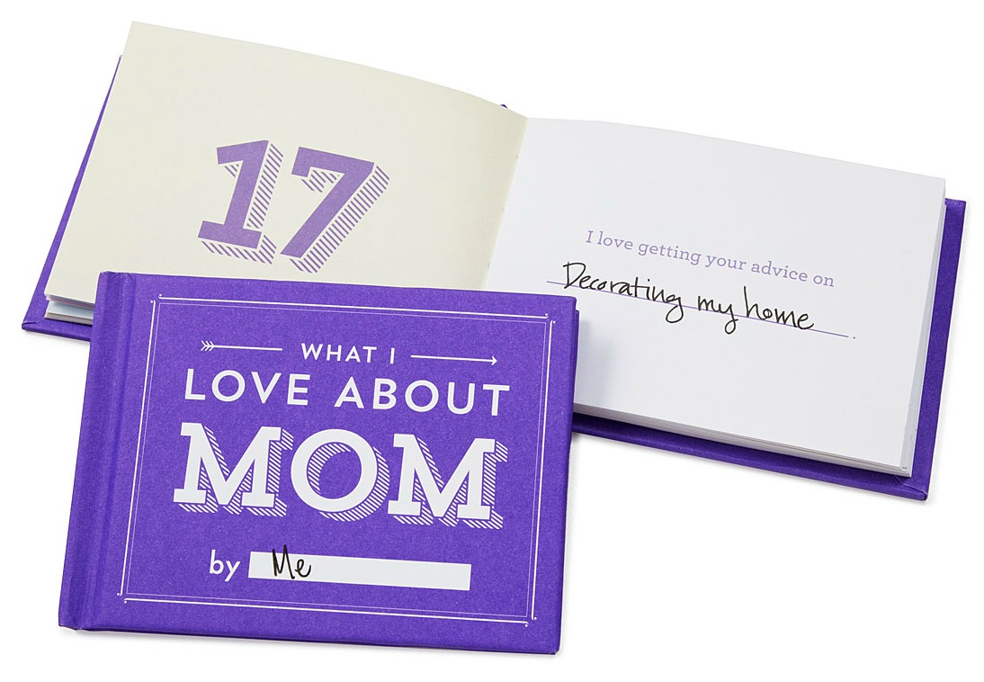 What I Love About Mom By Me Book | UncommonGoods