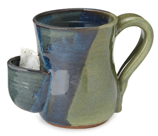 Tea Bag Pocket Mug | UncommonGoods