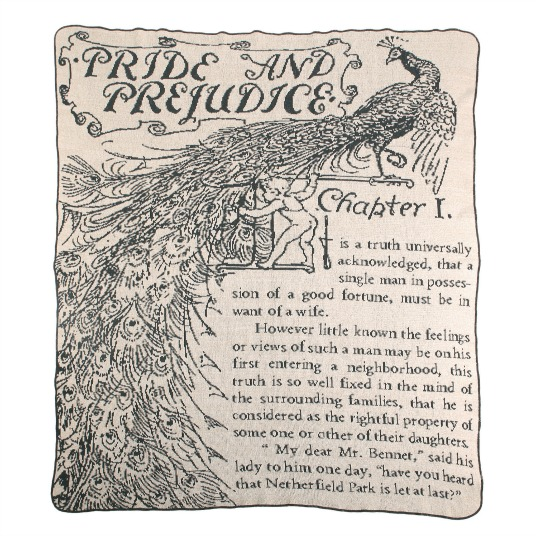 Pride and Prejudice Throw | UncommonGoods