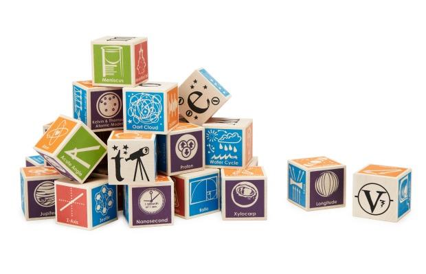 Super Nerdy ABC Blocks | UncommonGoods