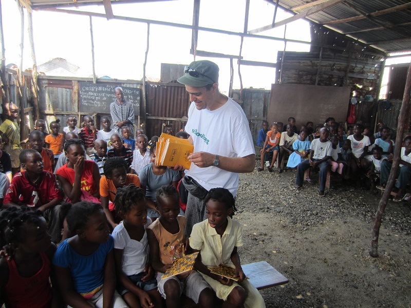 SchoolBags for Kids in Haiti