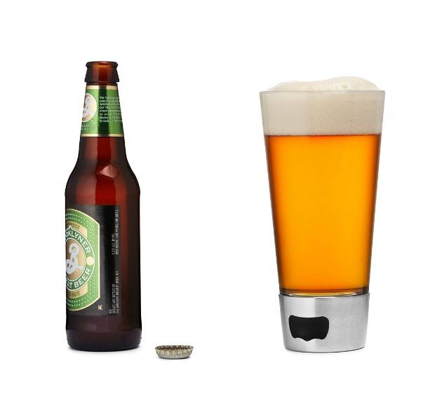 Beer Opening Glass | UncommonGoods