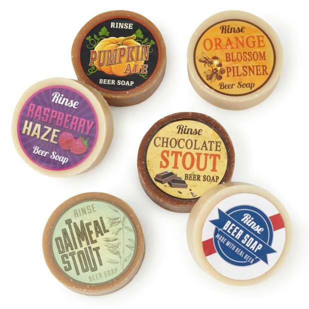 6 Pack Beer Soap Set | UncommonGoods