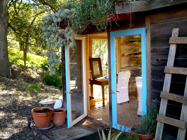 Jen Pleasants' Studio with Living Roof