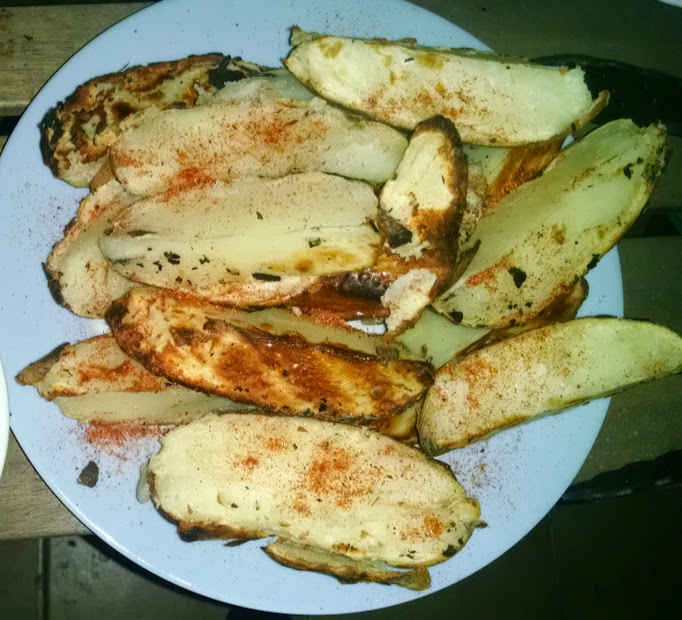 Piri piri Potatoes