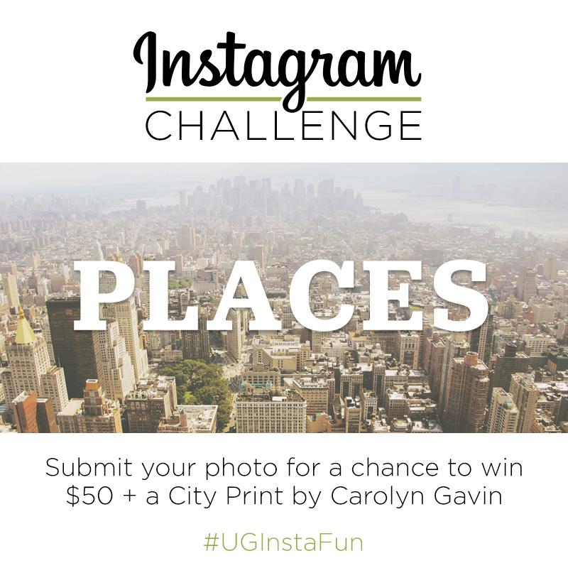 Instagram Challenge | Places | #UGInstFun
