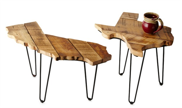 Barnwood State Side Tables | UncommonGoods