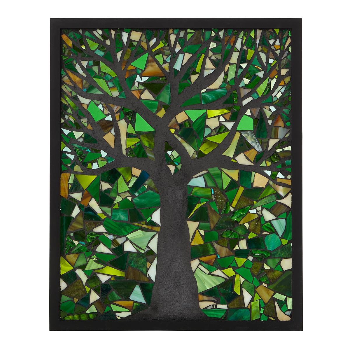 Spring Tree Stained Glass Panel by Chanda Frohle | UncommonGoods