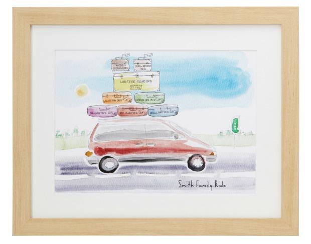 Personalized Family Ride Minivan