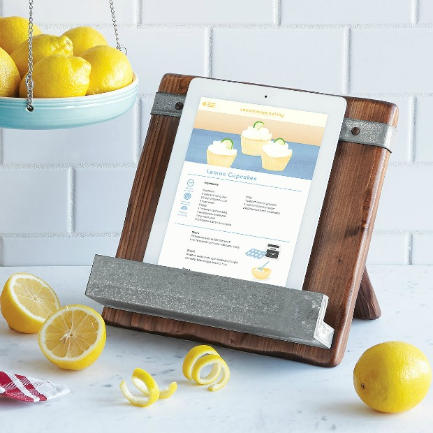 Reclaimed Wood Cookbook Stand | UncommonGoods