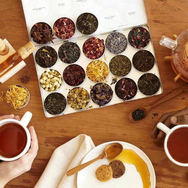 Green Herbal Tea Kit | UncommonGoods