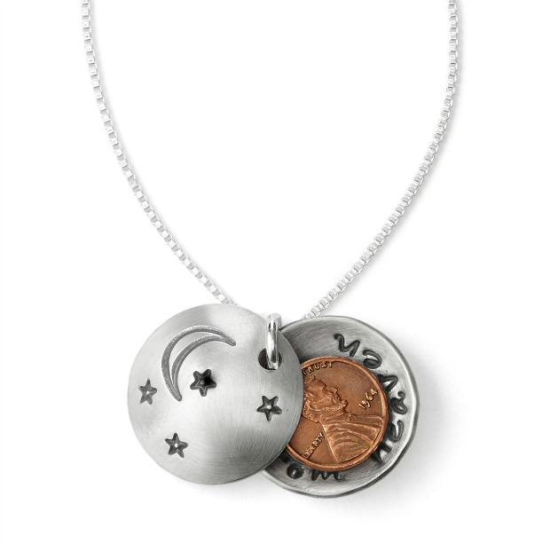 Pennies from Heaven Locket | UncommonGoods