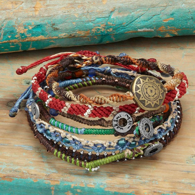 Story of the Earth Bracelets | UncommonGoods