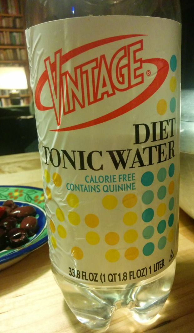 Grocery store tonic water