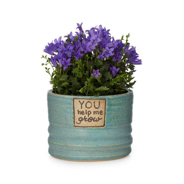 You Help Me Grow Planter | UncommonGoods