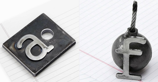F Bomb Paperweight | UncommonGoods