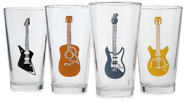 Guitar Glasses | UncommonGoods