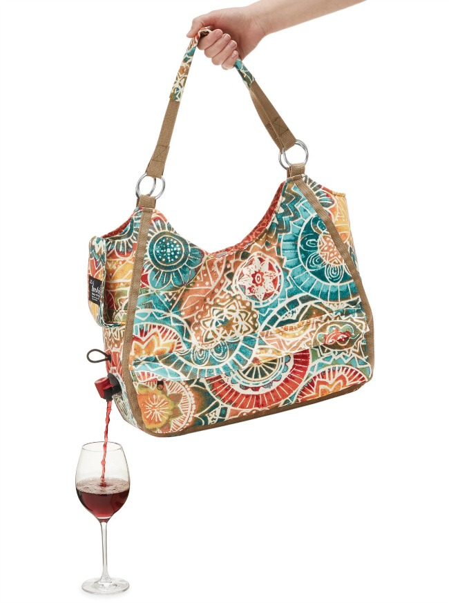 Wine and Beverage Dispensing Tote - UncommonGoods