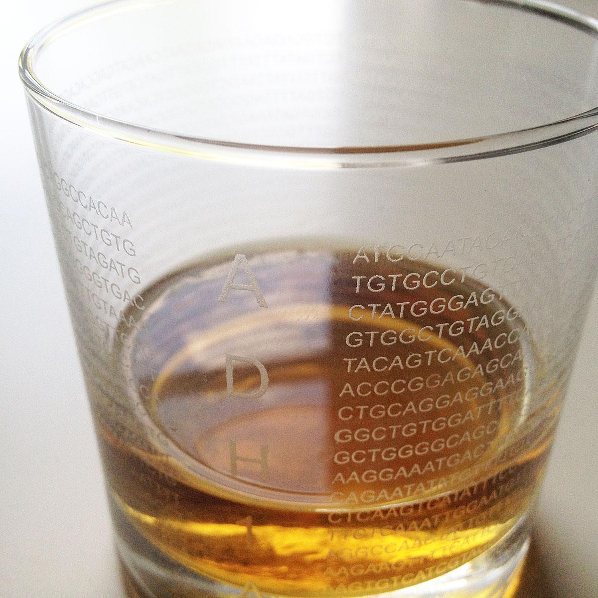Genetic Code Glasses | UncommonGoods