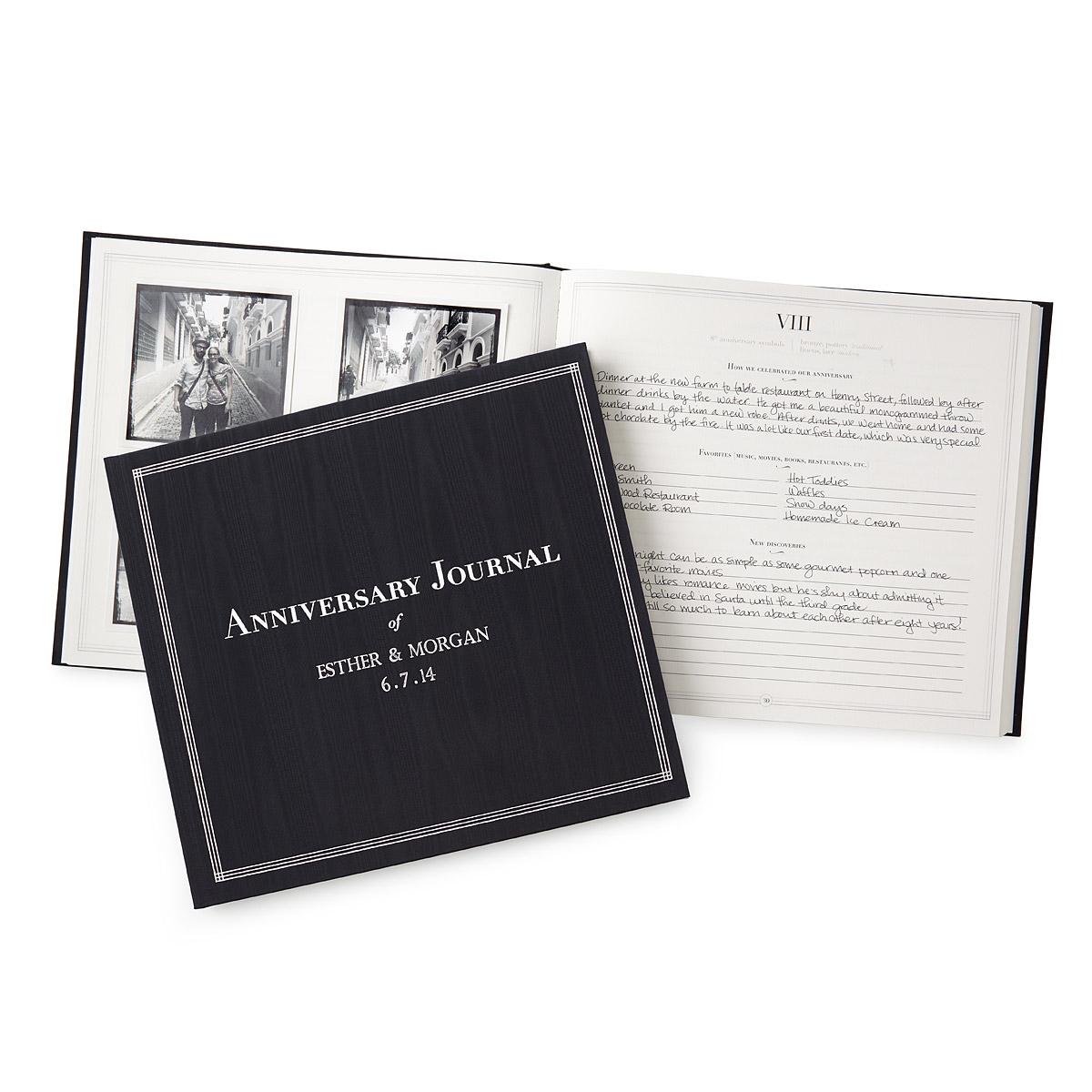 Personalized Anniversary Journal | UncommonGoods