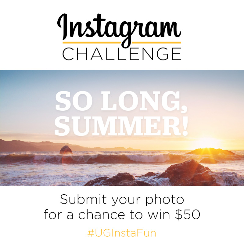 Instagram Challenge | So long, Summer | UncommonGoods | #UGInstaFun