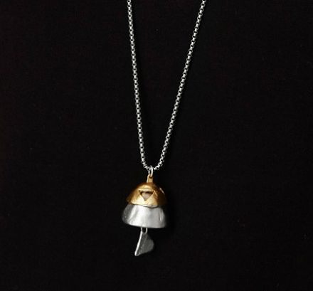 Tibetan Bell Necklace by Jen Pleasants | UncommonGoods