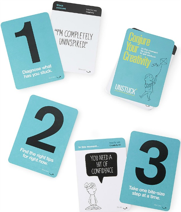 Conjure Your Creativity Tip Cards - UncommonGoods