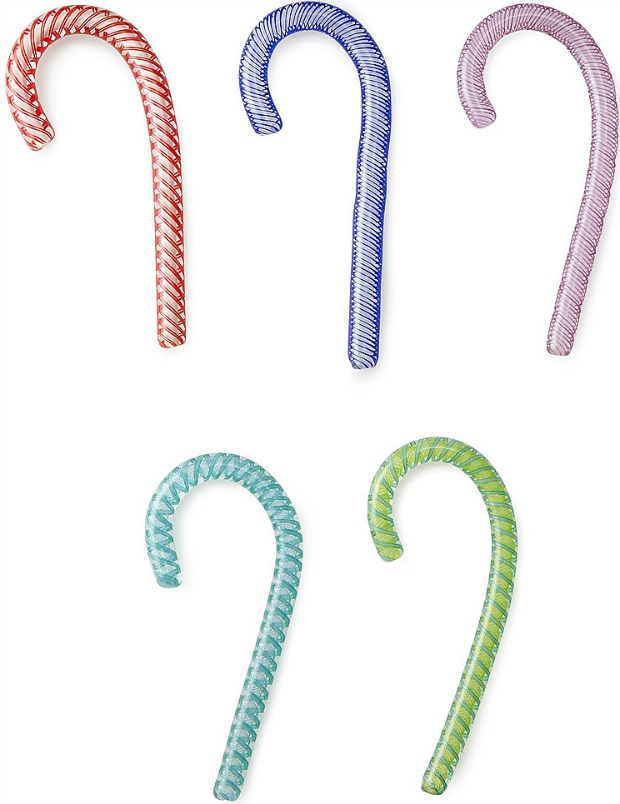 Handblown Glass Candy Canes - UncommonGoods