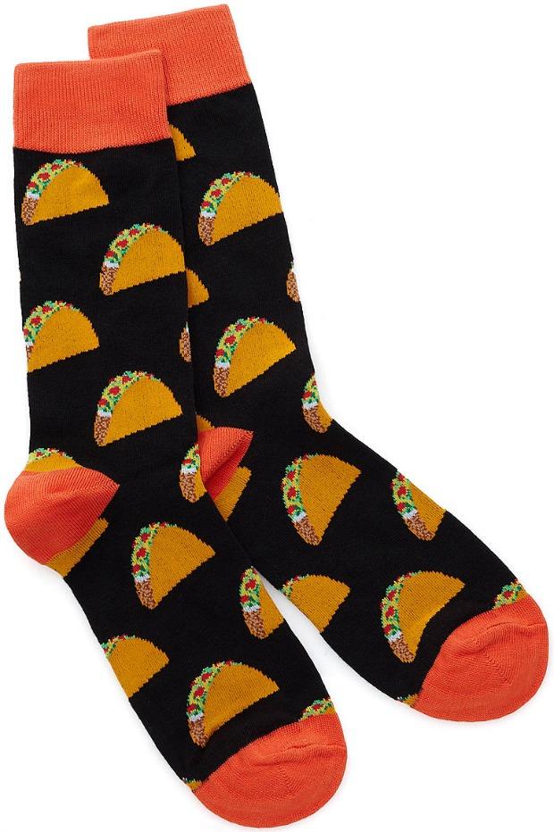 Men's Taco Socks - UncommonGoods