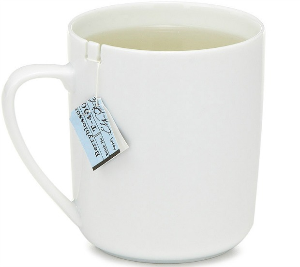 Tea Bag Holding Mug - UncommonGoods