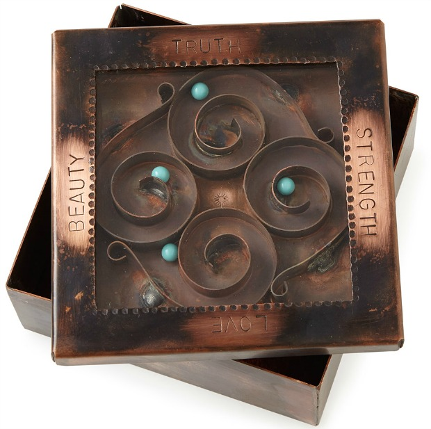 Truth and Beauty Reliquary Box | UncommonGoods