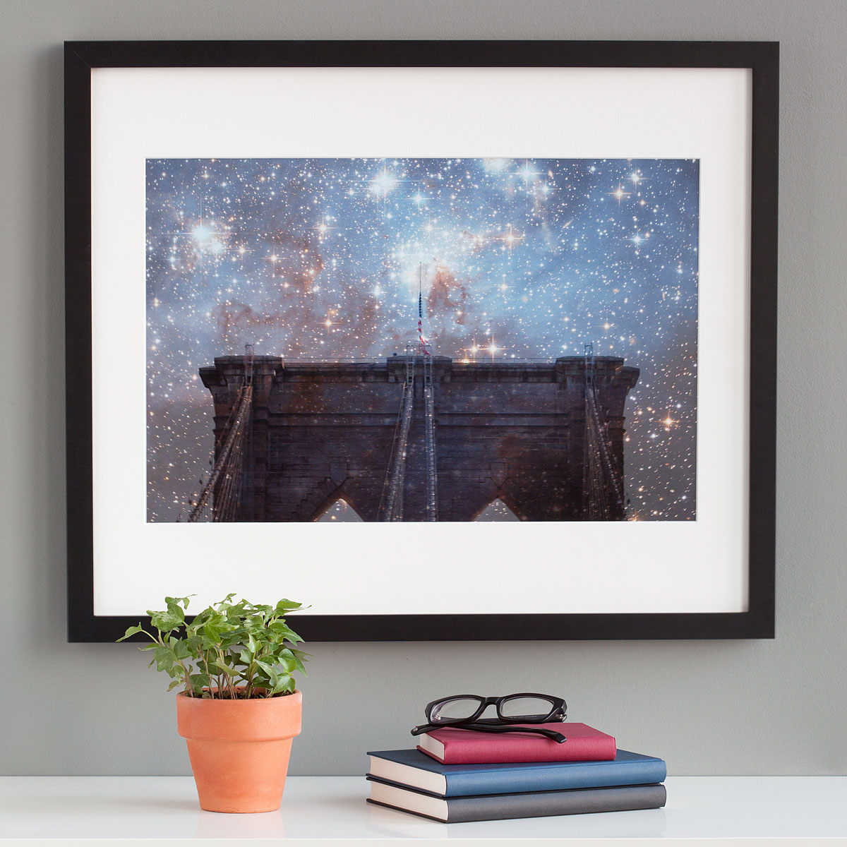 Starry Night Brooklyn Bridge | UncommonGoods