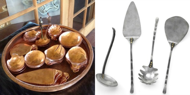 Hand Forged Serving Pieces | UncommonGoods