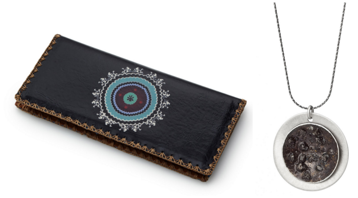Meteor Showers Meteorite Necklace & Celestial Embroidered Wallet|UncommonGoods