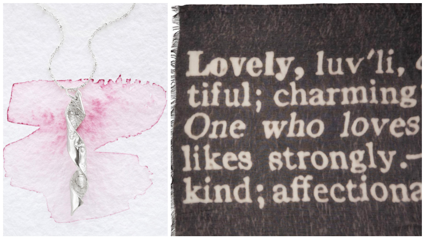 You Are Loved Always Inspiral & Definition Scarves|UncommonGoods