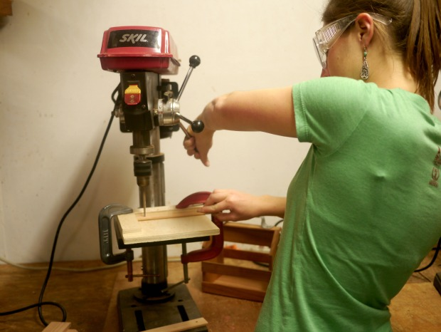Woodworking at Woodthumb