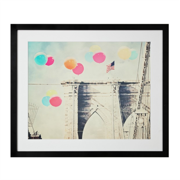 Balloons Over Brooklyn Bridge | UncommonGoods