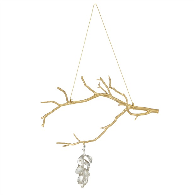 Manzanita Branch With Mistletoe