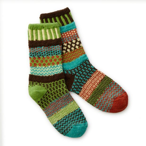 September Sun Mismatched Socks