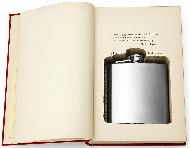 Flask Book Box | UncommonGoods