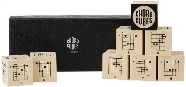 Guitar Chord Blocks | UncommonGoods