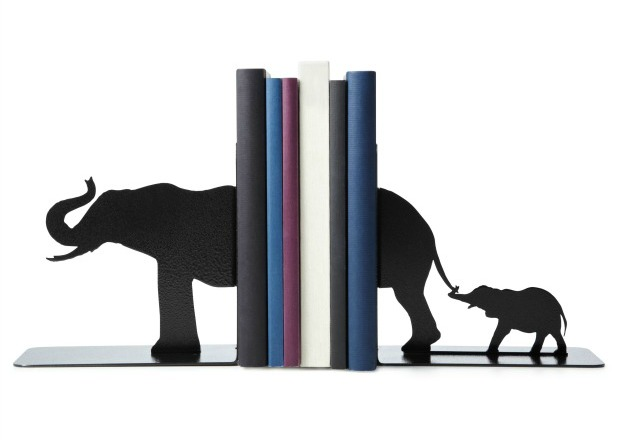 Elephant Bookends | UncommonGoods