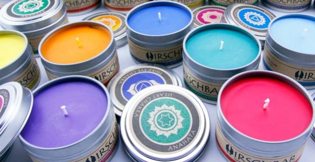 Chakra Candles - Set of 7 | UncommonGoods