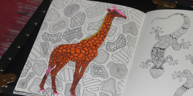 Giraffe Coloring Page | UncommonGoods