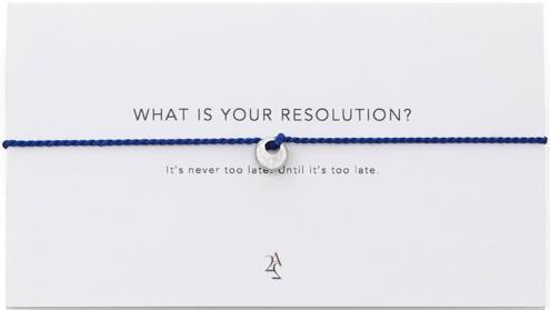 Resolution Bracelet | UncommonGoods