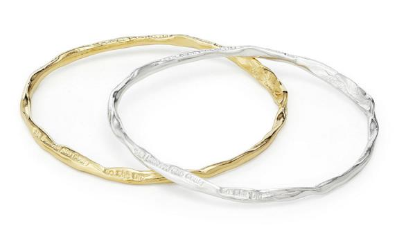 'She Believed She Could' Bangle | UncommonGoods
