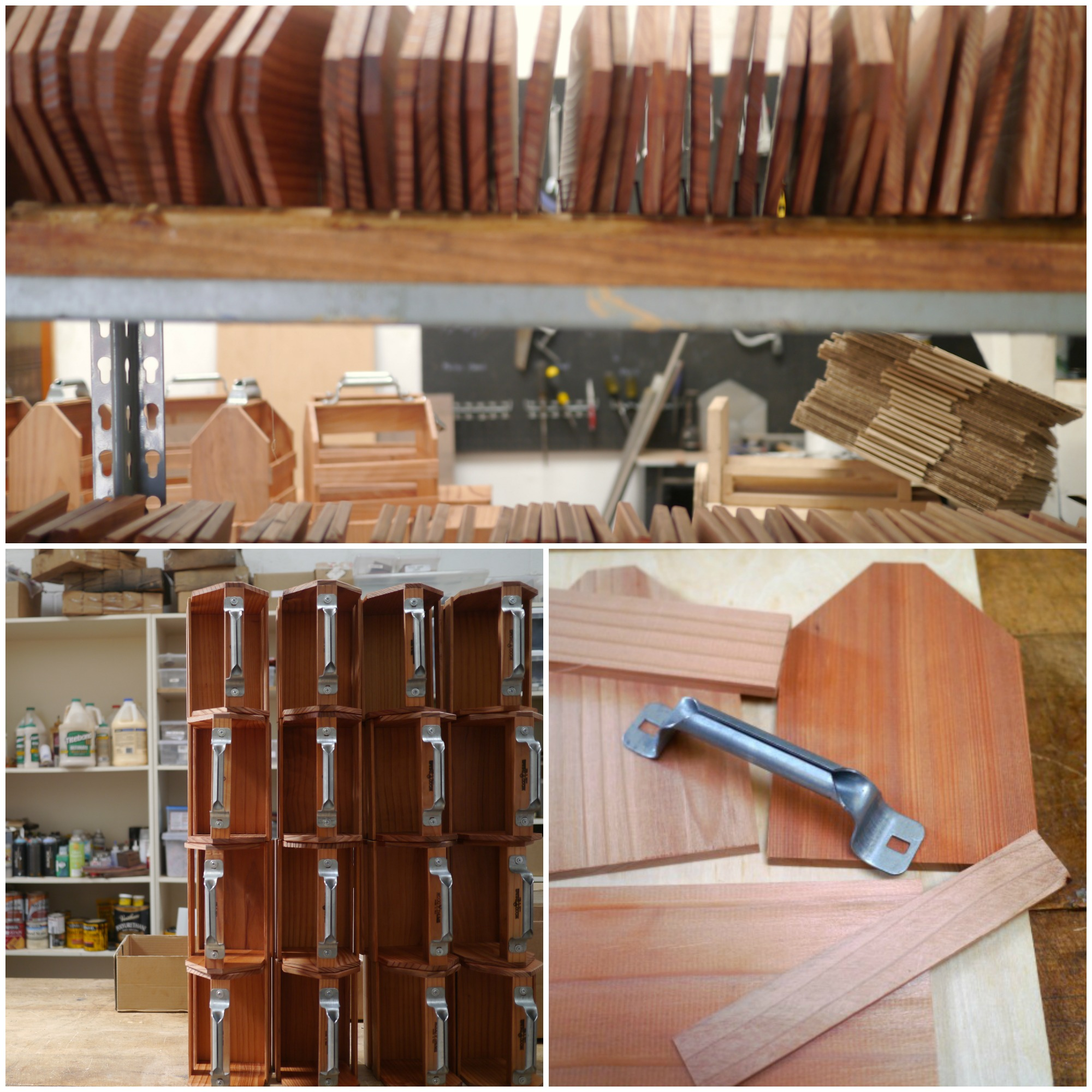 Wooden Beer Caddies from Woodthumb | UncommonGoods